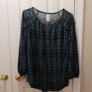 Faded Glory blouse sz 2X (18-20W)